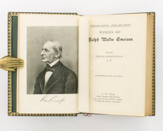 Works of Ralph Waldo Emerson. Complete Edition. Prose and Poetry