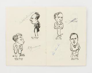 Caricatures of the Australian XI. English Tour 1953