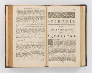 Universal Arithmetick, or, a Treatise of Arithmetical Composition and Resolution. To which is added, Dr. Halley's Method of finding the Roots of Equations arithmetically. Written in Latin by Sir Isaac Newton, and translated by the late Mr. Ralphson, and revised and corrected by Mr. Cunn. The Second Edition, very much corrected