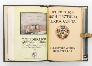 A collection of catalogues issued by Wunderlich Limited, 'Manufacturers of Building Materials of...