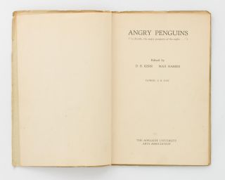Angry Penguins ('as drunks, the angry penguins of the night ...')