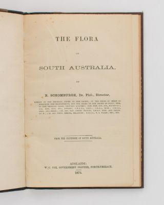 The Flora of South Australia.. From the Handbook of South Australia