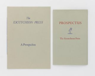Prospectuses for the two books by Geoffrey Farmer published by the Escutcheon Press, Pearl Bay,...