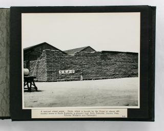 An album of photographs showing the extent of the activities of the Company circa 1938