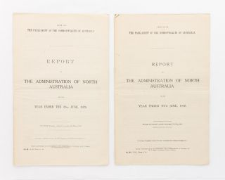 Report on the Administration of North Australia for the year ended the 30th June, 1929. [Plus]...