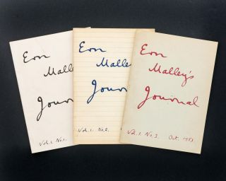 Ern Malley's Journal. Volume 1, Number 1, November 1952; Number 2, March 1953; and Number 3,...