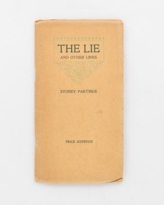 The Lie and Other Lines. Australian Private Press, Sydney PARTRIGE