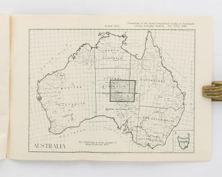 An Aerial Reconnaissance into the South-Eastern Portion of Central Australia. [Reprinted from] Proceedings of the Royal Geographical Society, South Australian Branch, Session 1928-9