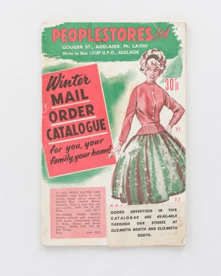 Peoplestores Ltd... Winter Mail Order Catalogue [cover title]. Trade Catalogue