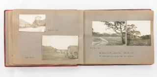 'The Flinders Ranges'. An album containing 41 original photographs documenting a motoring trip to the Flinders Ranges in 1932