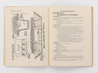 Air Raid Precaution Lectures for Instructors... Issued by the Directorate of Air Raid Precautions