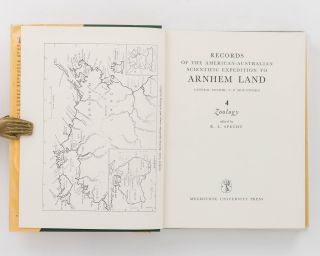 Records of the American-Australian Scientific Expedition to Arnhem Land. [Volume] 4: Zoology