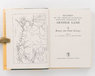 Records of the American-Australian Scientific Expedition to Arnhem Land. [Volume] 3: Botany and Plant Ecology
