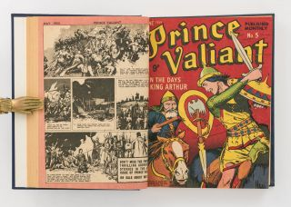 Prince Valiant in the Days of King Arthur. Number 1, May 1954 to Number 20, February 1956 [all published]