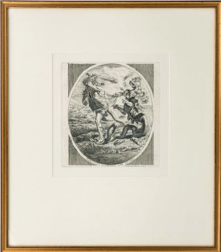 'The Happy Man's Pedigree' [title of a copperplate engraving]