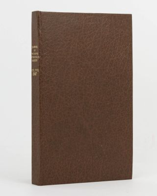 A Condensed Account of an Exploration in the Interior of Australia ... in 1844 and 1845 ... [Contained in] Journal of the Royal Geographical Society of London, Volume 17, 1847, Part 2