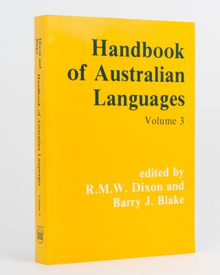 Handbook of Australian Languages. Volume 3. Djapu, a Yolngu Dialect; Yukulta; Uradhi [and]...