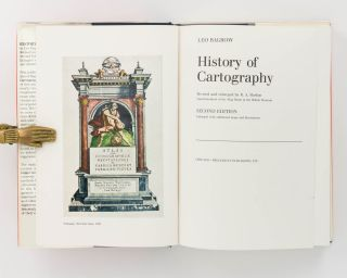History of Cartography. Revised and enlarged by R.A. Skelton, Superintendent of the Map Room at the British Museum