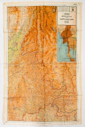 44/A India (Part of) and Burma (North West) [recto]. [Together with] 44/B Burma (North East), Siam (Thailand) (North), French Indo China (Part of), China (Part of) [verso]