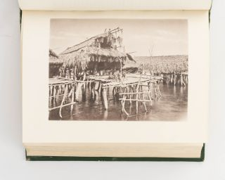 Picturesque New Guinea. With an Historical Introduction and Supplementary Chapters on the Manners and Customs of the Papuans. Accompanied with fifty full-page autotype illustrations from negatives of portraits from life and groups and landscapes from nature