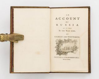 An Account of Russia as it was in the Year 1710
