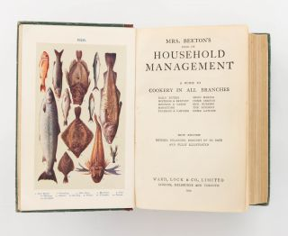 The Book of Household Management. A Guide to Cookery in All Branches. Daily Duties, Mistress & Servant, Hostess & Guest, Marketing, Trussing & Carving, Menu Making, Home Doctor, Sick Nursing, The Nursery, Home Lawyer