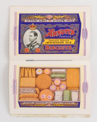 Arnott's Famous Biscuits [cover title]