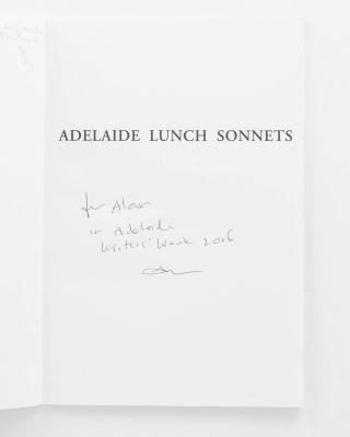 Adelaide Lunch Sonnets