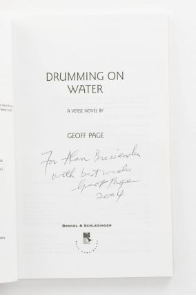 Drumming on Water. A Verse Novel