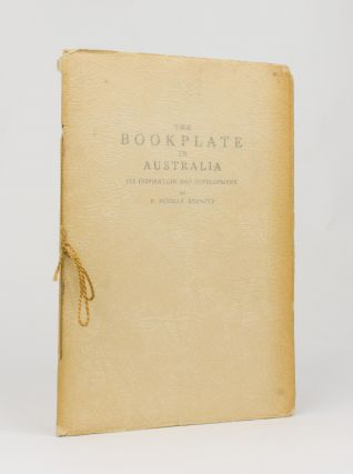 The Bookplate in Australia. Its Inspiration and Development. Bookplates, P. Neville BARNETT