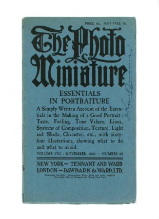 The Photo-Miniature. A Magazine of Photographic Information. Edited by John A. Tennant. Volume 8,...