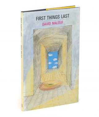 First Things Last. Poems. David MALOUF
