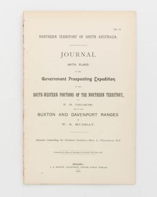 Journal ... of the Government Prospecting Expedition to the South-Western Portions of the...