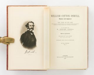 William Cotton Oswell, Hunter and Explorer. The Story of His Life, with Certain Correspondence...