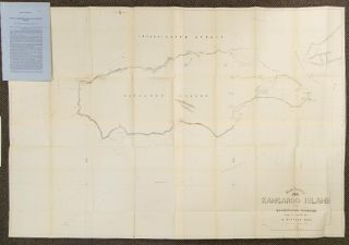 Survey of Kangaroo Island and Backstairs Passage. Report by B. Douglas, of a Survey of the...