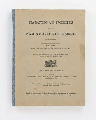 The External Characters of Pouch Embryos of Marsupials. [A series of nine articles contained in] Transactions of the Royal Society of South Australia, Volumes 44 to 48 (1920 to 1924)