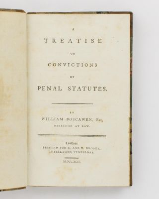 A Treatise on Convictions on Penal Statutes