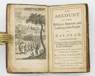 An Account of the Religion, Manners, and Learning of the People of Malabar, in Several Letters...