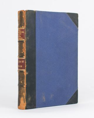 The Leichhardt Plate. [Contained in] Proceedings of the Royal Geographical Society, South...