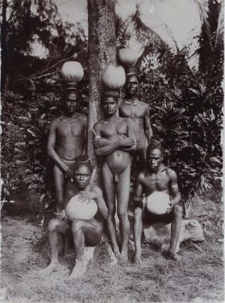 Forty-four vintage photographs (circa 1887-94) of indigenous life in the Bismarck Archipelago and German New Guinea are offered as a collection