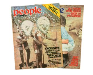 Secrets of the Aranda. [Contained in two issues of] 'People' Magazine. 3 August 1978 [and] 10...
