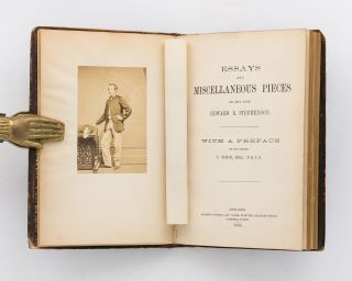 Essays and Miscellaneous Pieces by the late Edward R. Stephenson. With a preface by his friend,...