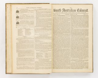 The South Australian Colonist and Settler's Weekly Record of British, Foreign, and Colonial...