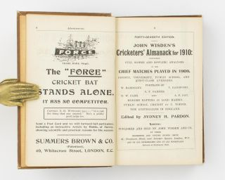 Wisden's Cricketers' Almanack for 1910