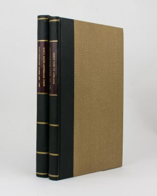 Two volumes of nineteenth century South Australian Parliamentary Papers relating to ports and harbors, together with a small quantity of related manuscript material, collected by Geoffrey Ingleton