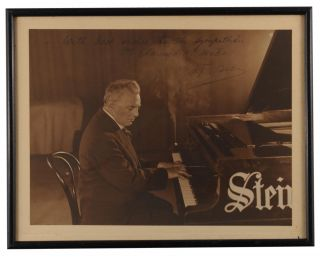 A collection of twelve vintage gelatin silver photographs of international musicians and singers, inscribed and signed to Adelaide impresario Clarence Mates and his wife from the mid-1920s to the early 1930s