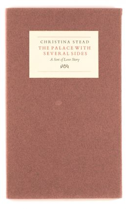 The Palace with Several Sides. A Sort of Love Story. Edited by R.G. Geering. Brindabella Press,...