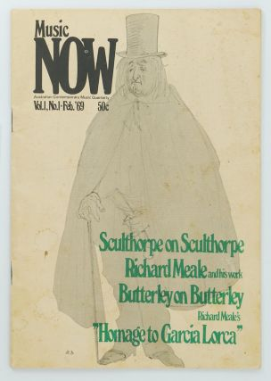 Music Now. Australian Contemporary Music Quarterly. Volume 1, Number 1, February 1969