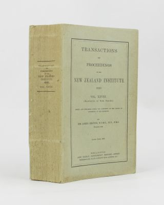 Transactions and Proceedings of the New Zealand Institute, 1895. Vol. XXVIII (Eleventh of New Series