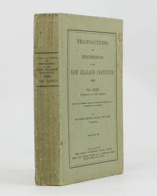 Transactions and Proceedings of the New Zealand Institute, 1899. Vol. XXXII (Fifteenth of New Series